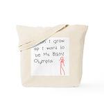 Ms Bikini Olympia Tote Bag
