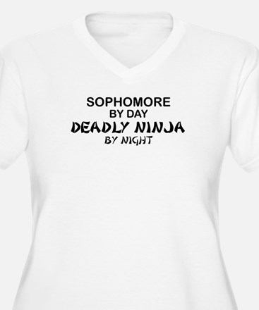 Deadly Ninja by Night - Sophomore T-Shirt