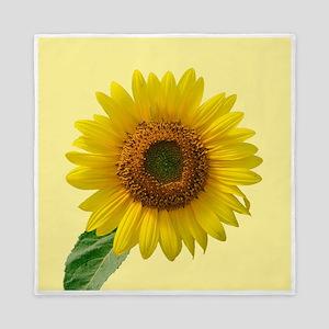 Sunny Sunflower Queen Duvet