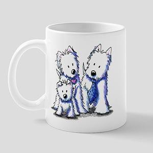 Father's Day Westies Mug