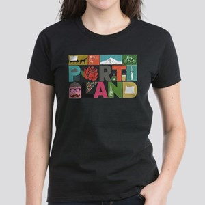 Unique Portland - Block by Block T-Shirt