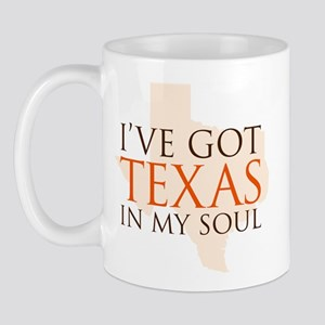Texas in my Soul Mug