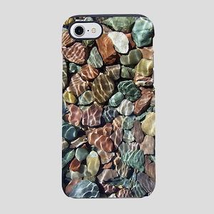 Sunny Lake Rocks iPhone 7 Tough Case