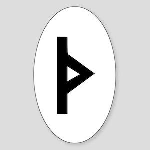 THURISAZ Sticker (Oval)