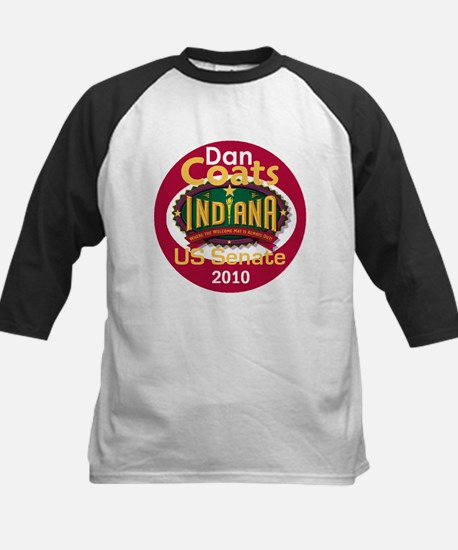 Dan Coats Indiana Kids Baseball Jersey