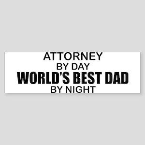 World's Greatest Dad - Attorney Sticker (Bumper)