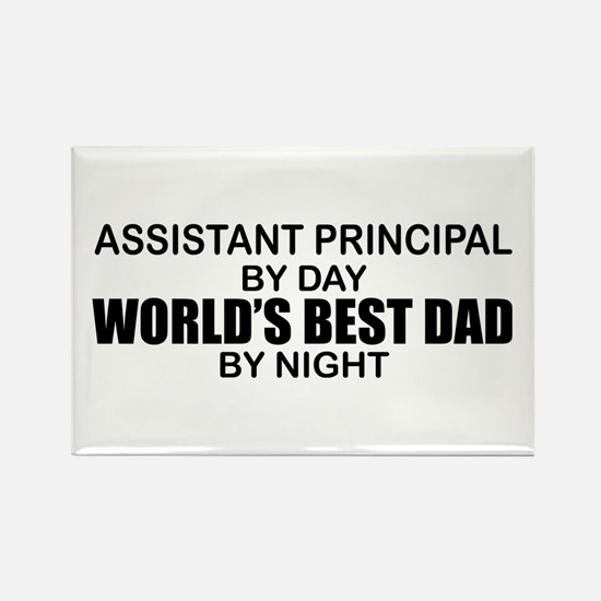 World's Greatest Dad - Asst Principal Rectangle Ma