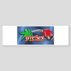 DIESEL WEED Sticker (Bumper)