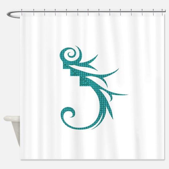 I AM HOOKED Shower Curtain
