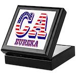 California Keepsake Box