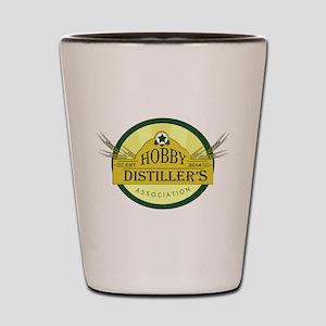 Hobby Distiller's Association Logo Shot Glass