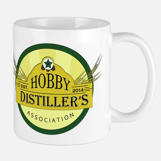 Hobby Distiller's Association Logo Mugs