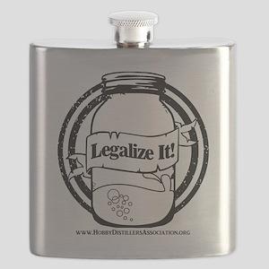 Legalize Home Distilling Flask