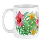 Tropical Collage 11 oz Ceramic Mug