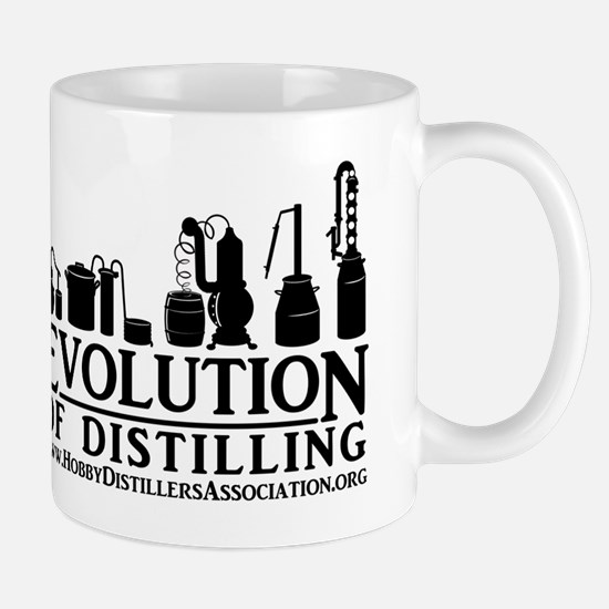 Evolution of Distilling Mugs