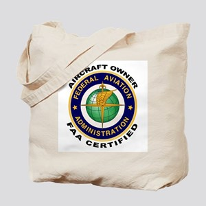 FAA Certified Aircraft Owner Tote Bag