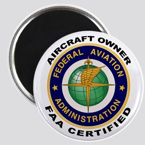 FAA Certified Aircraft Owner Magnet