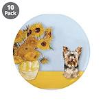 Sunflowers / Yorkie #17 3.5