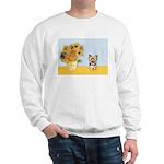 Sunflowers / Yorkie #17 Sweatshirt