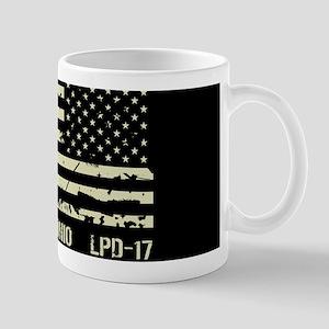 USS San Antonio 11 oz Ceramic Mug