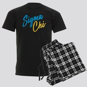Sigma Chi Brush Men's Dark Pajamas