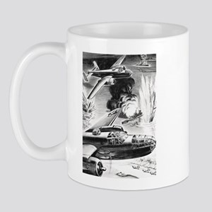 B-25 WW II Illustration Mug