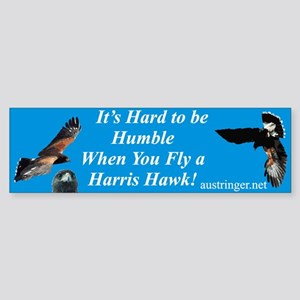 Hard to be Humble Bumper Sticker