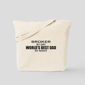 World's Greatest Dad - Broker Tote Bag