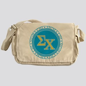 Sigma Chi Circle Messenger Bag