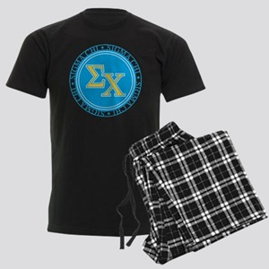 Sigma Chi Circle Men's Dark Pajamas