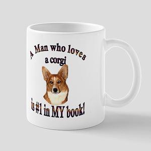 A Man Who Loves a Corgi - Red Mug
