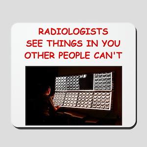 radiology radiologist joke Mousepad