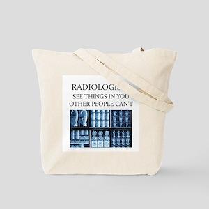 radiology radiologist joke Tote Bag