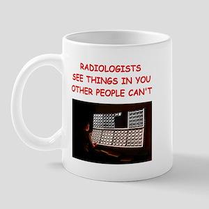 radiology radiologist joke Mug