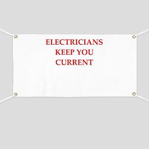 funny electrician joke Banner