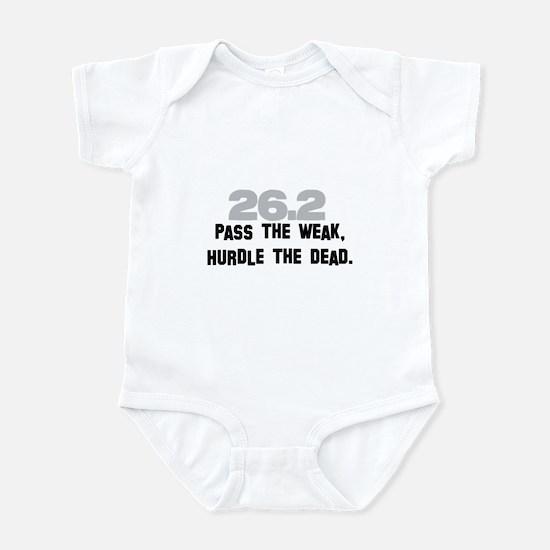 26.2 Pass the Weak FUNNY Infant Bodysuit