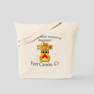 1st Bn 66th AR Tote Bag