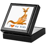 I Love Kids (Kangaroo) Keepsake Box