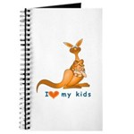 I Love Kids (Kangaroo) Journal