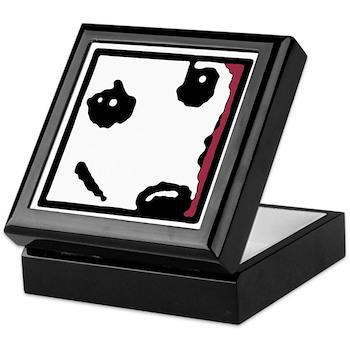 Corgi Face Keepsake Box