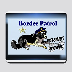 Border Collie Gifts-Pun Inten Mousepad