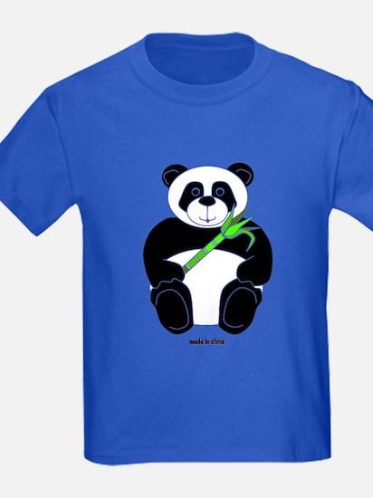 Cute Childs panda T