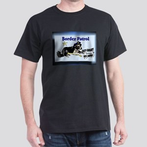 Border Collie Black T-Shirt
