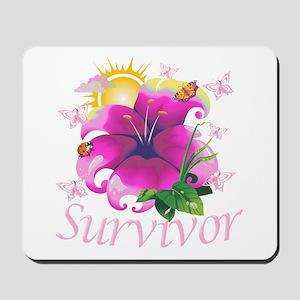 Survivor Flower Mousepad