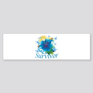 Survivor Flower Sticker (Bumper)