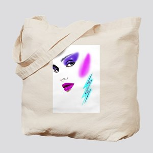 Face & Earring Tote Bag