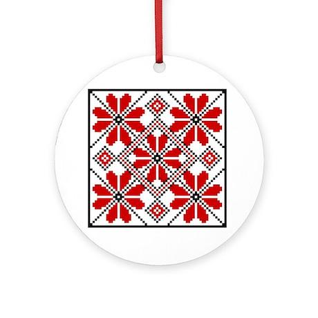 Folk Design 6 Ornament