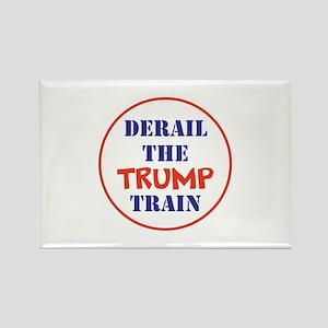 Derail the trump train Magnets