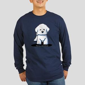 Bichon Frise II Long Sleeve Dark T-Shirt