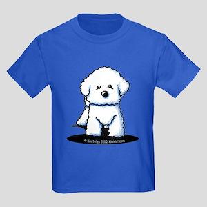 Bichon Frise II Kids Dark T-Shirt
